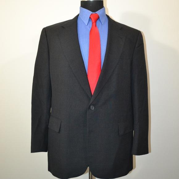Jos. A. Bank Other - Jos A Bank 44R Sport Coat Blazer Suit Jacket Dark